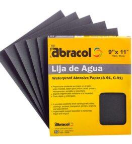 Hojas de lija Abracol